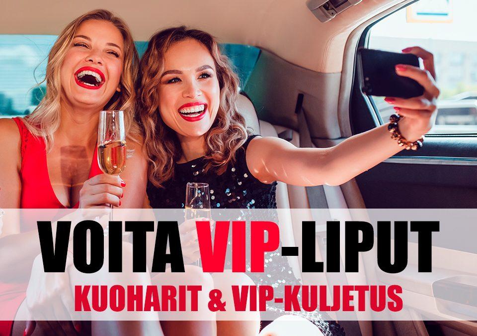 OMG! VOITA VIP-LIPUT FESTAREILLE!